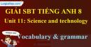 Vocabulary and Grammar –Unit 11 SBT Tiếng Anh 8 mới