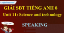 Speaking – Unit 11 SBT Tiếng Anh 8 mới