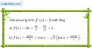 Bài 5.48 trang 207 SBT đại số và giải tích 11