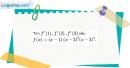 Bài 5.52 trang 208 SBT đại số và giải tích 11