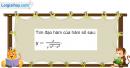 Bài 5.66 trang 209 SBT đại số và giải tích 11