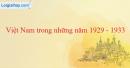 Việt Nam trong những năm 1929-1933