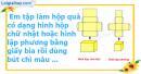 C. Hoạt động ứng dụng - Bài 68 : Hình hộp chữ nhật. Hình lập phương