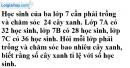 Bài 8 trang 56 SGK Toán 7 tập 1