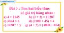 Tiết 50 Bài 1, bài 2, bài 3, bài 4  trang 58 sgk Toán 4