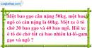 Tiết 53 Bài 1, bài 2, bài 3, bài 4 trang 62 sgk Toán 4