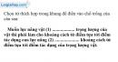 Bài C3 trang 49 SGK Vật lí 6