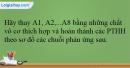 Bài 32.9 trang 76 SBT Hóa học 12