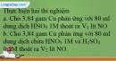 Bài 35.21 trang 87 SBT Hóa học 12