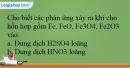 Bài 32.11 trang 76 SBT Hóa học 12