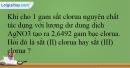 Bài 32.13 trang 76 SBT Hóa học 12
