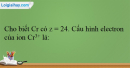 Bài 34.1, 34.2, 34.3, 34.4 trang 80 SBT Hóa học 12