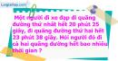 B. Hoạt động thực hành - Bài 84 : Cộng số đo thời gian