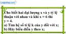 Bài 1 trang 53 SGK Toán 7 tập 1