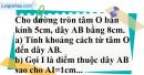 Bài 12 trang 106 SGK Toán 9 tập 1