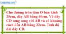 Bài 14 trang 106 SGK Toán 9 tập 1