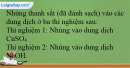 Bài 37.3; 37.4; 37.5; 37.6 trang 91 SBT Hóa học 12