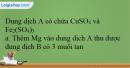 Bài 37.9 trang 92 SBT Hóa học 12