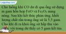 Bài 37.12 trang 92 SBT Hóa học 12