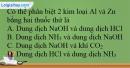 Bài 36.8; 36.9 trang 89 SBT Hóa học 12
