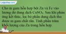 Bài 36.14 trang 89 SBT Hóa học 12
