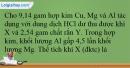 Bài 38.4; 38.5 trang 93 SBT Hóa học 12