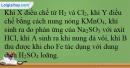 Bài 41.6 trang 96 SBT Hóa  học 12