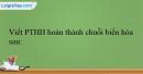 Bài 38.7 trang 94 SBT Hóa học 12