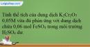 Bài 38.9 trang 94 SBT Hóa học 12