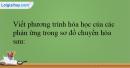 Bài 38.11 trang 94 SBT Hóa học 12