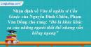 """Nhận định về bài Văn tế nghĩa sĩ cần Giuộc của Nguyễn Đình Chiểu, Phạm Văn Đồng cho rằng đó là """"Khúc ca của những người thất thế nhưng vẫn hiên ngang"""". Hãy phân tích bài văn để làm sáng tỏ nhận định trên."""
