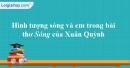 Hình tượng sóng và em  trong bài thơ Sóng của Xuân Quỳnh