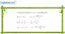 Bài 1 trang 82 sách đại số và giải tích 11