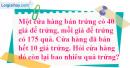 Tiết 57 Bài 1, 2, 3, 4 trang 67, 68 sgk Toán 4