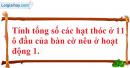 Câu hỏi 4 trang 101 SGK Đại số và Giải tích 11