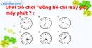 A. Hoạt động thực hành - Bài 103 : Ôn tập về đo thời gian