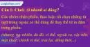 A. Hoạt động cơ bản - Bài 27C: Liên kết câu bằng từ ngữ nối