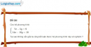 Bài 1 trang 68 sgk đại số 10