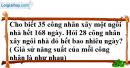 Bài 14 trang 58 SGK Toán 7 tập 1