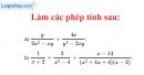 Bài 23 trang 46 SGK toán 8 tập 1