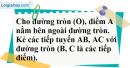 Bài 26 trang 115 SGK Toán 9 tập 1