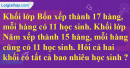 Tiết 61 Bài 1, bài 2, bài 3, bài 4  trang 71 sgk Toán 4
