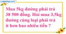 Bài 3 trang 62 sgk Toán 5