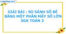 Bài 1, 2, 3 trang 61 sgk Toán 3
