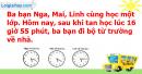 B. Hoạt động ứng dụng - Bài 107 : Ôn tập về các phép tính với số đo thời gian