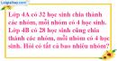 Tiết 66 Bài 1, bài 2, bài 3  trang 76 sgk Toán 4