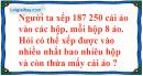 Bài 1, 2, 3 trang 77 SGK Toán 4
