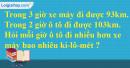 Bài 4 trang 68 Tiết 35 sgk Toán 5