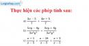 Bài 21 trang 46 SGK Toán 8 tập 1