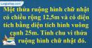 Bài 4 trang 70 Tiết 37 sgk Toán 5